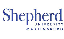 Logo of Shepherd University in West Virginia